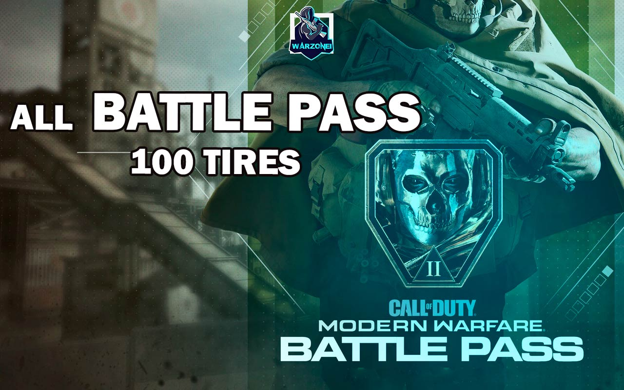 all batte pass tires call of duty warzone