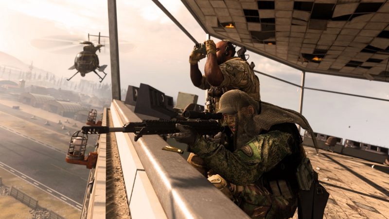 sniper on the bridge