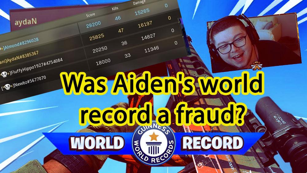 ayden record fraud