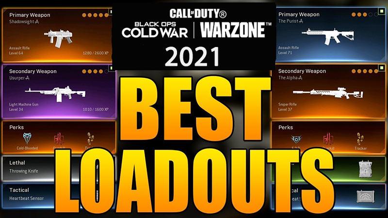 best loadouts 2021