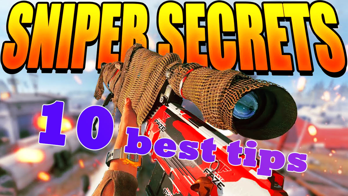 best tips snipper warzone
