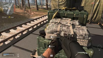 call of duty loot warzone in traibn