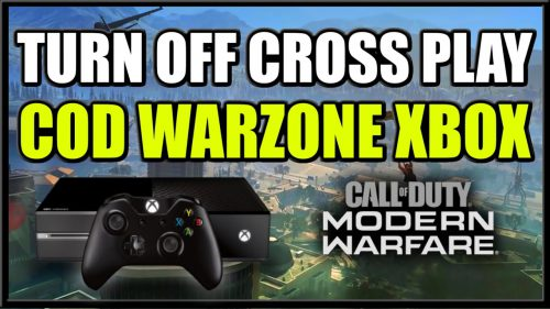 disable cross play warzone