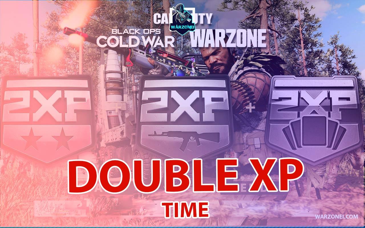 double xp event