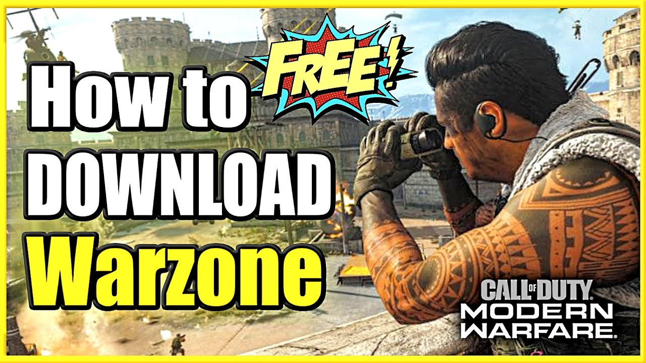 how to get or download warzone