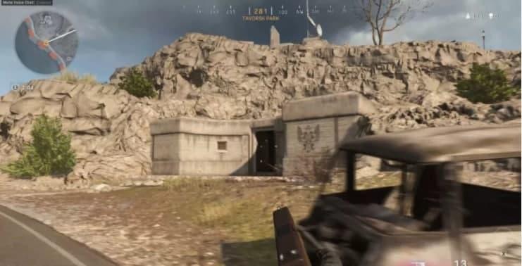park bunker