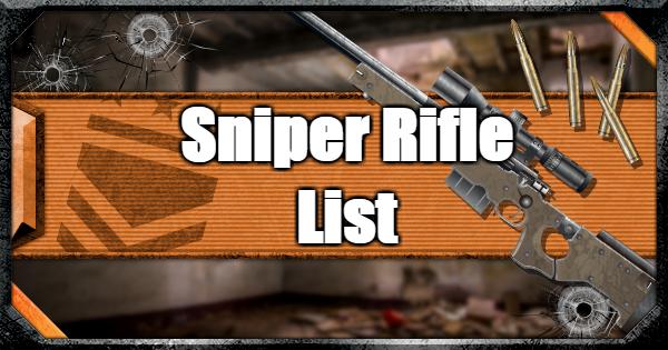 sniper list