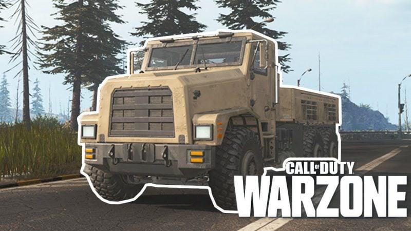 truck in warzone