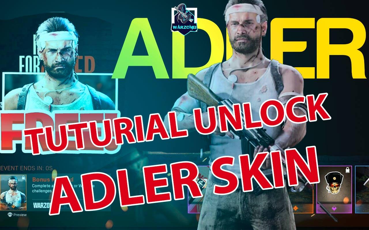 unlock adler skin