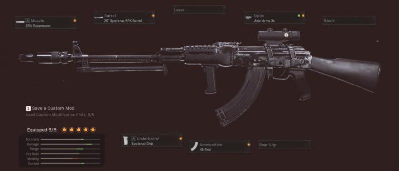 ak47 long range class