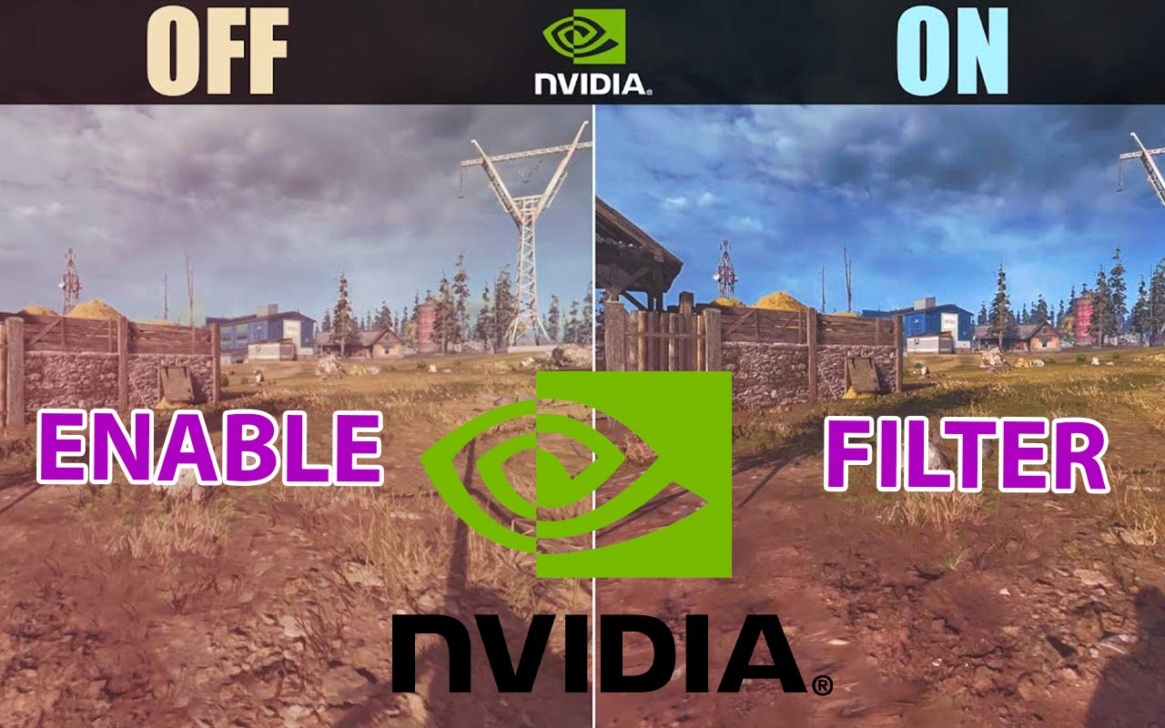 enable nvidia filter