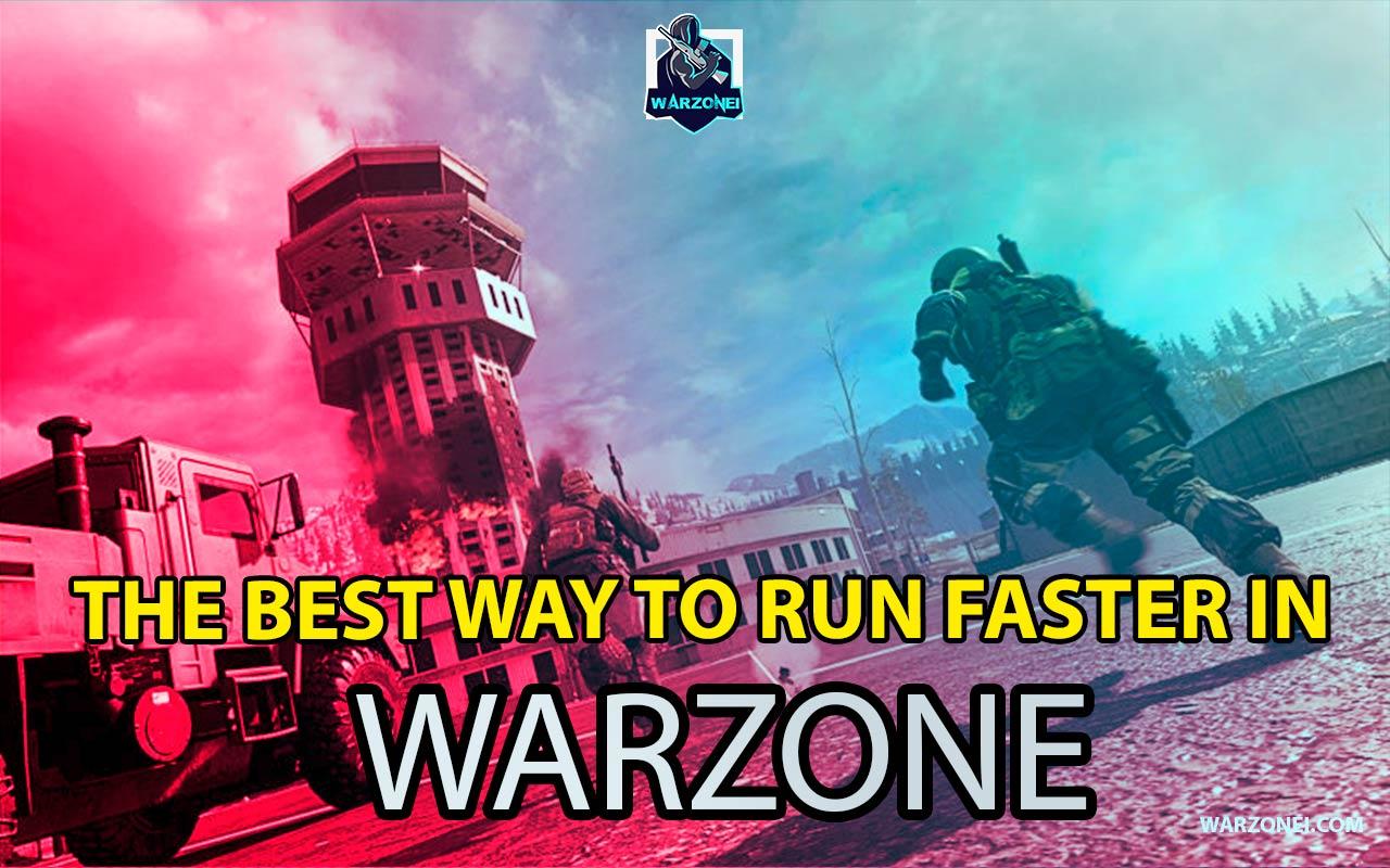 faster run warzone