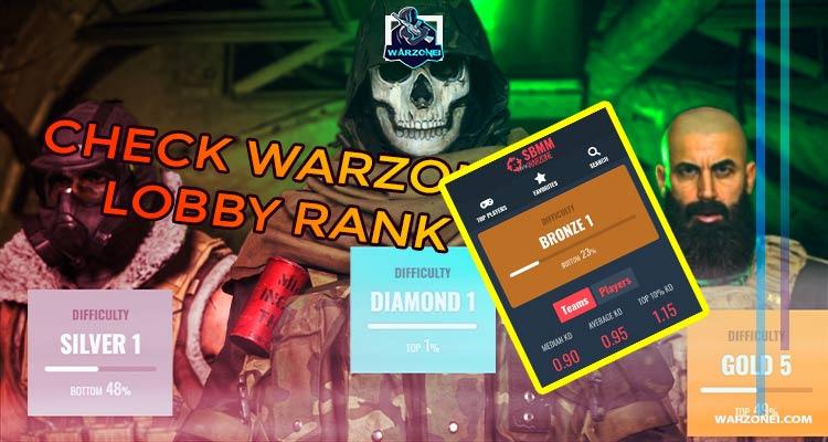 lobby rank warzone