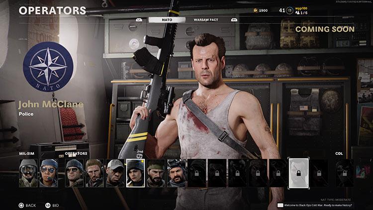 John McClane skin