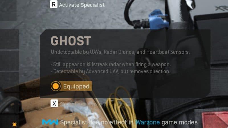 perk ghost