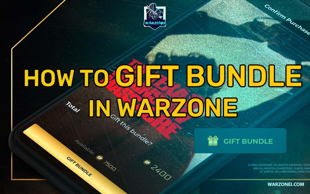 gift bundle warzone