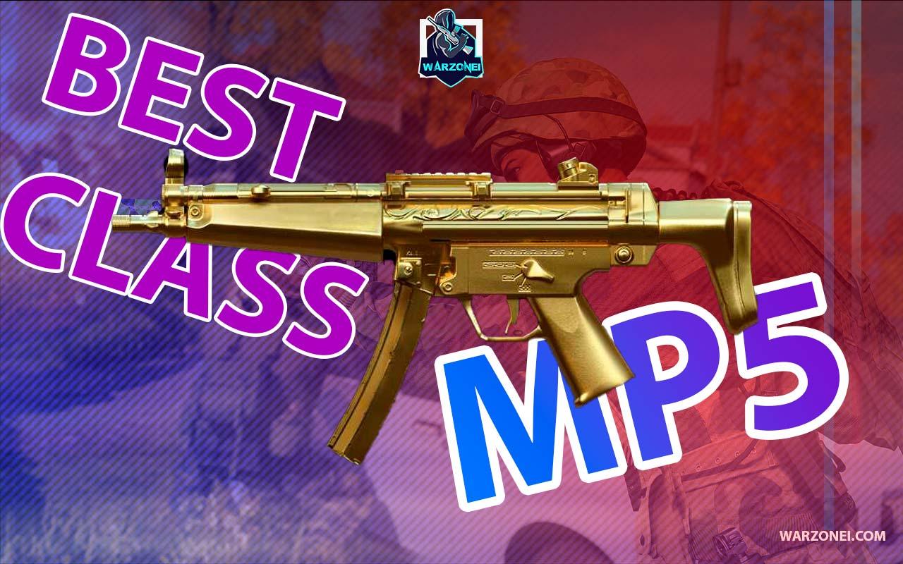 MP5 class loadout warzone