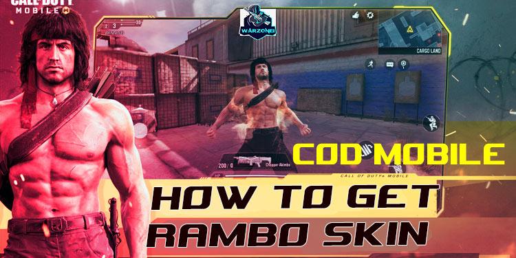 cod mobile rambo skin