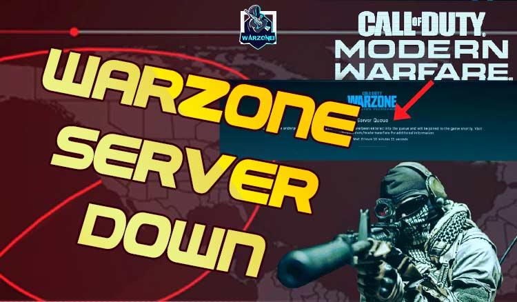 warzone server down