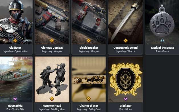 Conqueror bundle item