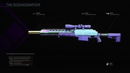 THE OCEANOGRAPHER blueprint