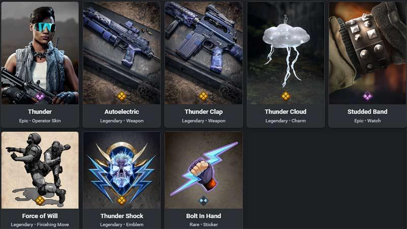 Thunder Storm bundle item