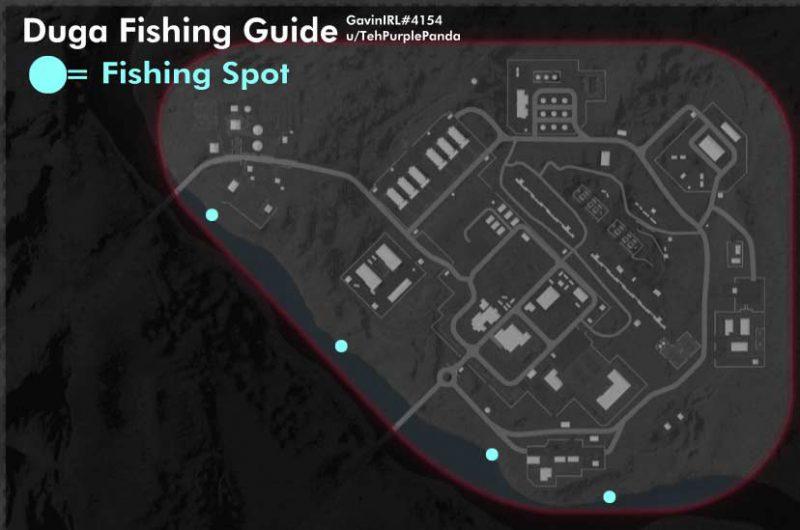 location duga fishing