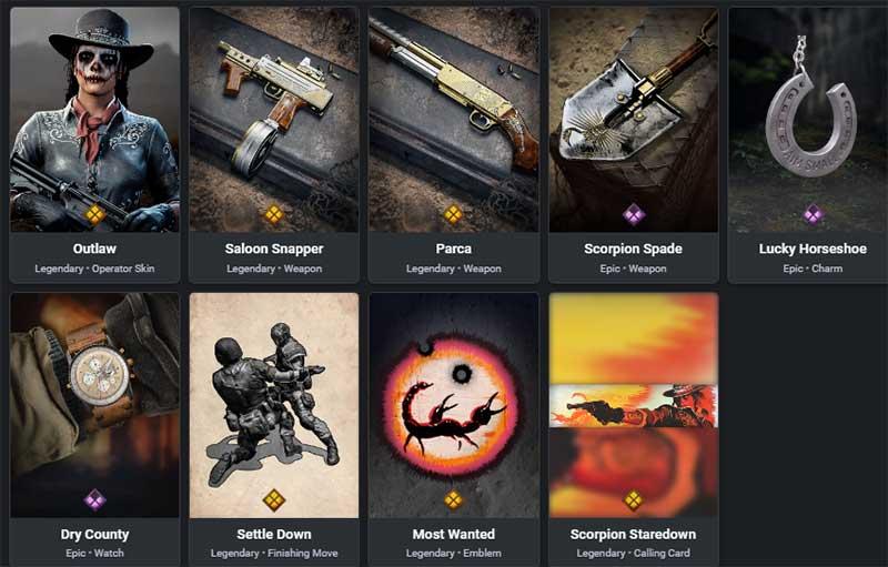 most wanted bundle item