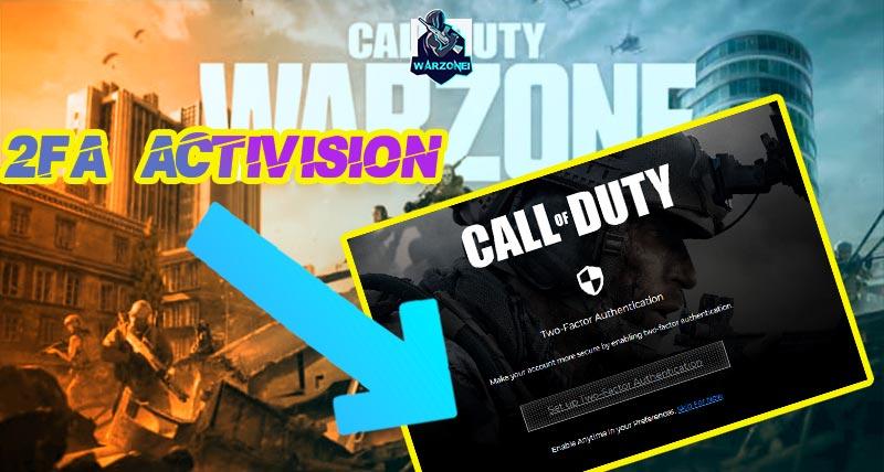 2fa Activision warzone