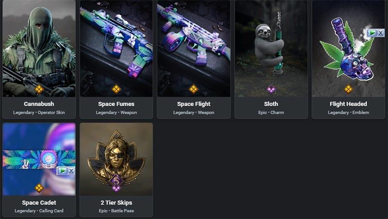 Stoner's Delight II bundle items