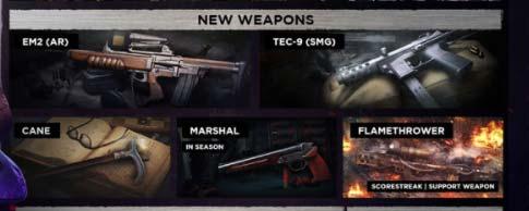 new weapons season 5