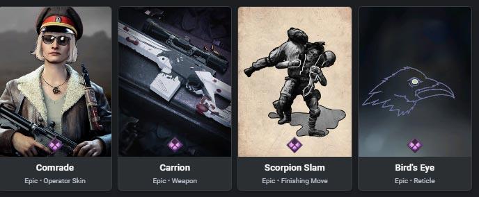 Iron Sorrow items