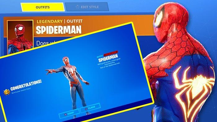 spiderman fortnite