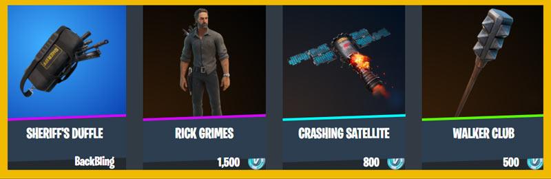 Rick Grimes bundle items