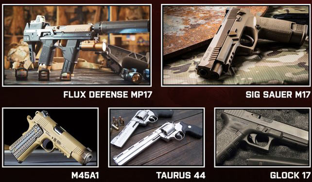Pistol guns in bf 2042